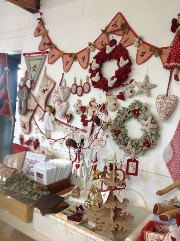 Xmas workshops at Cowslip in Cornwall